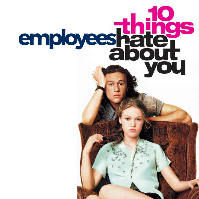 10 things employees hate about you square