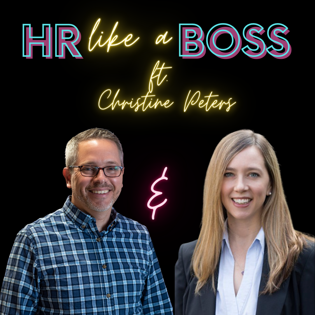 HR Like a Boss square thumbnail featuring Christine Peters