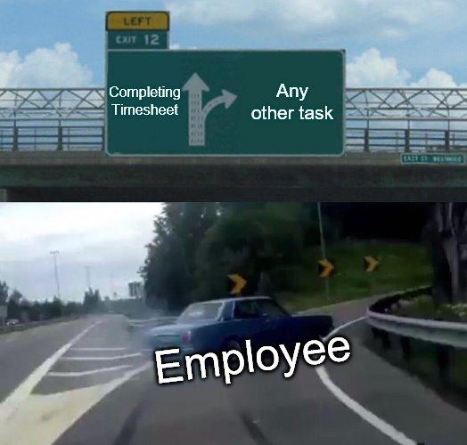 Memeingful HR: Timesheets