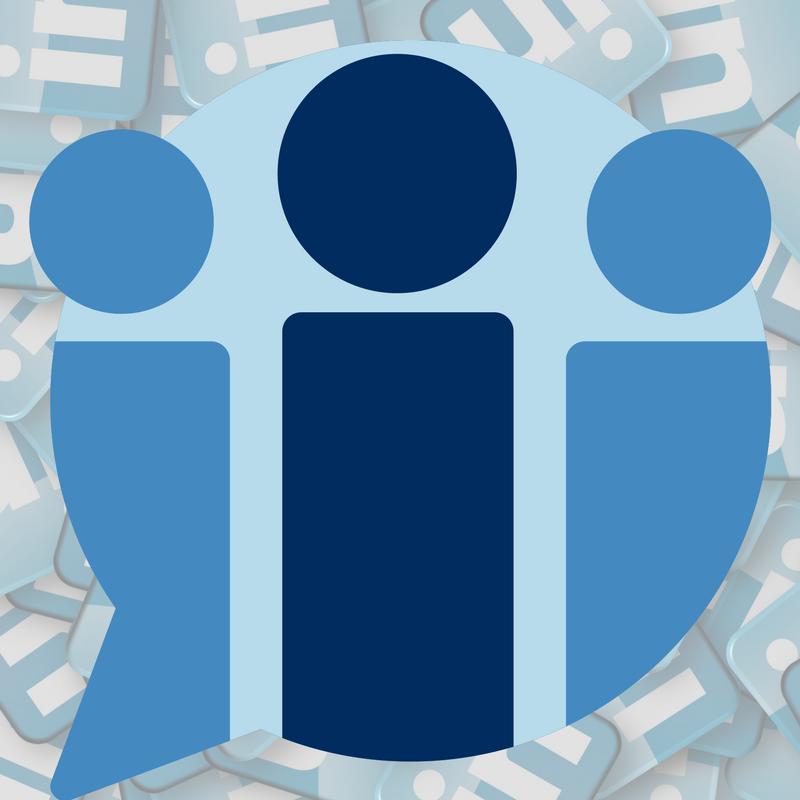 Image representing building connections on social media platform LinkedIn