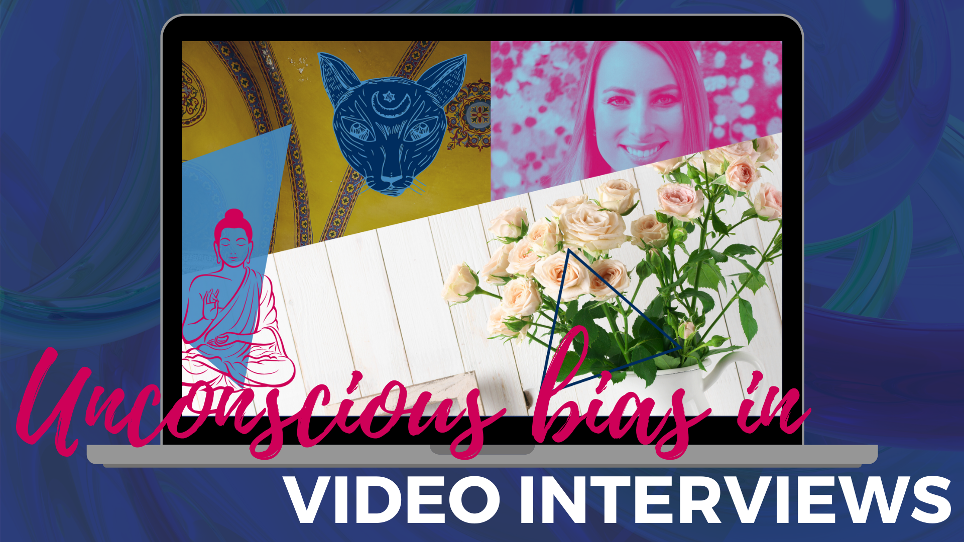 Video Interviewing: Rustic décor, buddha, and litter boxes, OH MY!